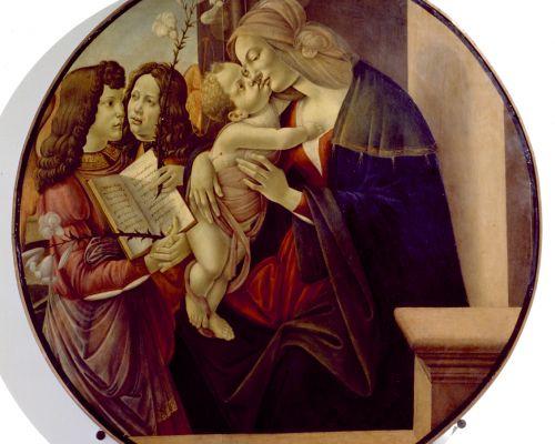 4823 Sandro Botticelli Madonna con Bambino